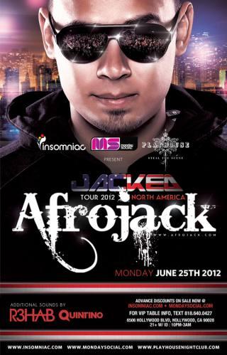 Afrojack @ Playhouse