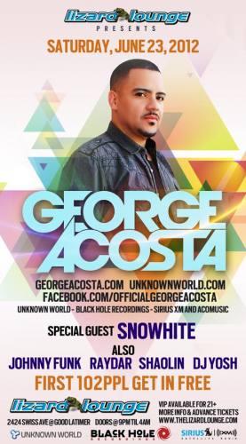 George Acosta @ The Lizard Lounge
