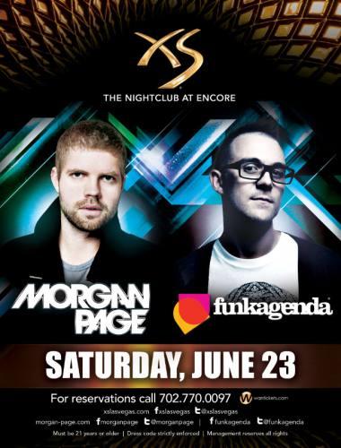 Morgan Page & Funkagenda @ XS - Las Vegas