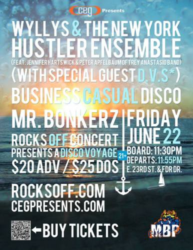 Rocks Off: A Disco Voyage with Wyllys & More