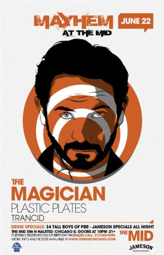The Magician & Plastic Plates @ The MID