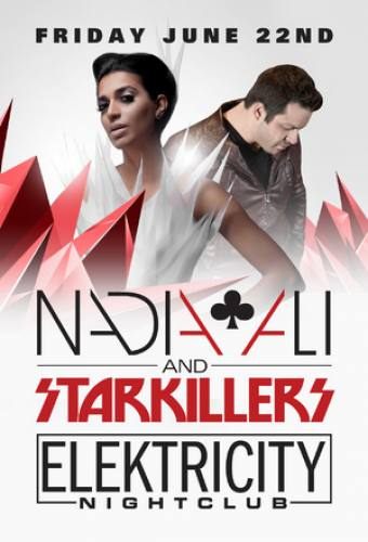 Nadia Ali & Starkillers @ Elektricity