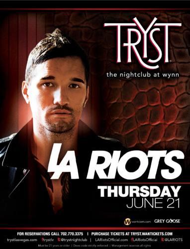 LA Riots @ Tryst Nightclub