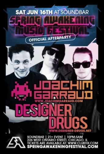 SAMF Afterparty w/ Joachim Garraud & Designer Drugs