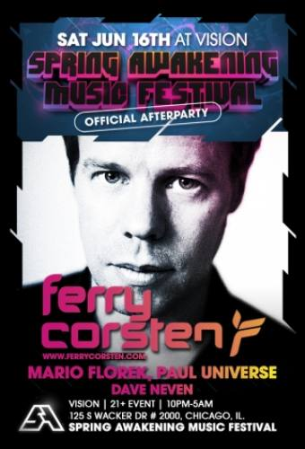 SAMF Afterparty w/ Ferry Corsten
