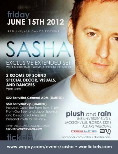 Sasha @ Plush - Jacksonville