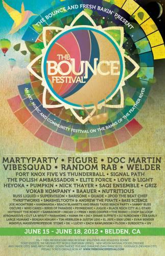 The Bounce Festival 2012