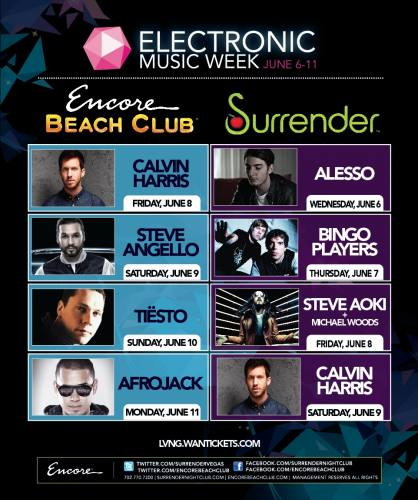 Afrojack @ Encore Beach Club (6/11/12)