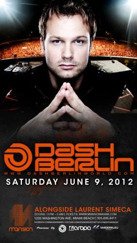 Dash Berlin @ Mansion (6/9/12)