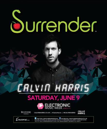Calvin Harris @ Surrender (6/9/12)