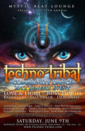 Techno-Tribal Community Dance Benefit Event