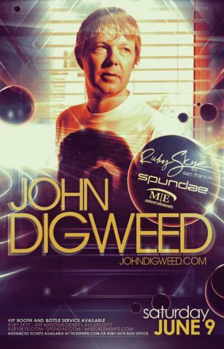 John Digweed @ Ruby Skye (6/9/12)