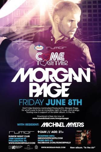 Morgan Page @ Rumor - Philadelphia