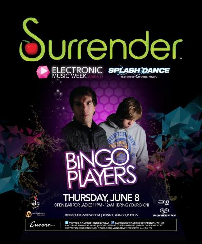 Bingo Players @ Surrender (6/7/12)