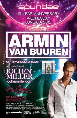 Armin van Buuren @ Ruby Skye