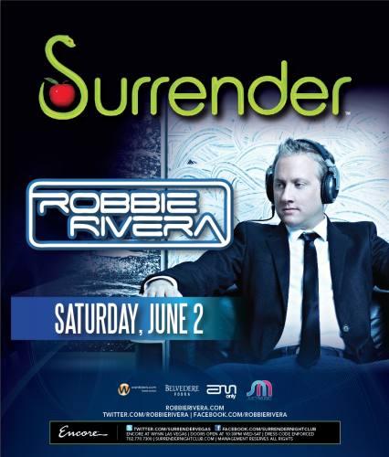 Robbie Rivera @ Surrender (6/2/12)