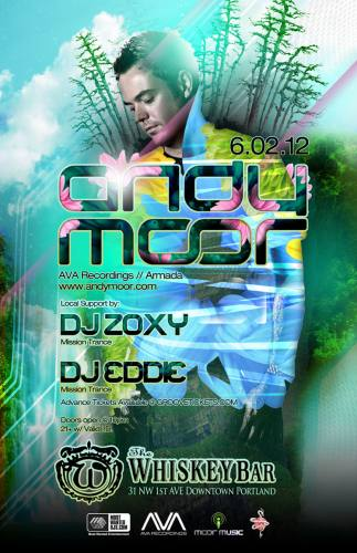 Andy Moor @ The Whiskey Bar
