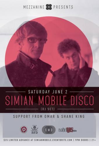 Simian Mobile Disco (DJ) @ Mezzanine (6/2/12)