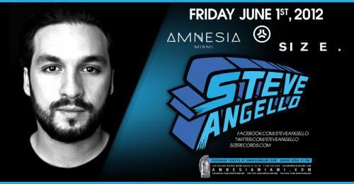 Steve Angello @ Amnesia Miami
