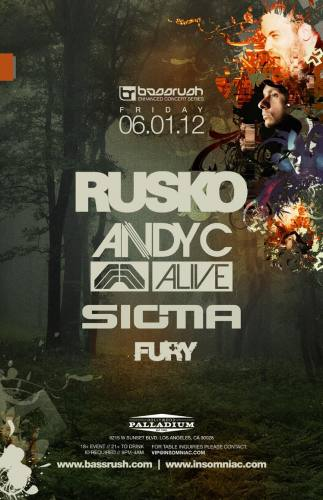 Rusko & Andy C @ Hollywood Palladium