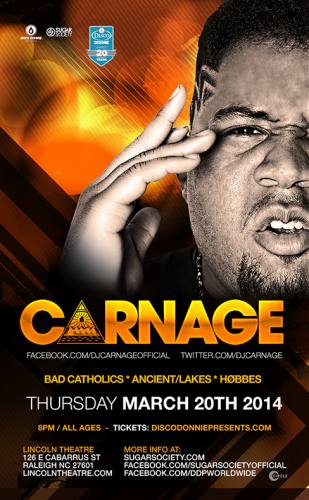 Carnage @ Lincoln Theatre