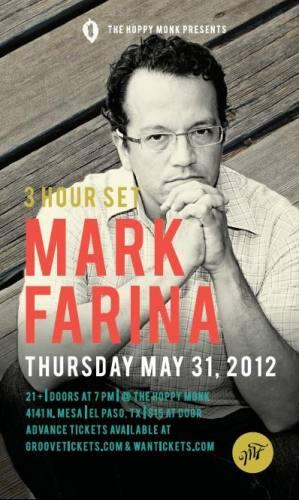 Mark Farina @ The Hoppy Monk