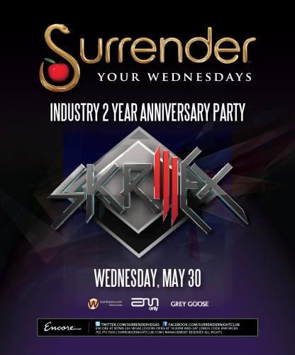 Skrillex @ Surrender (5/30/12)