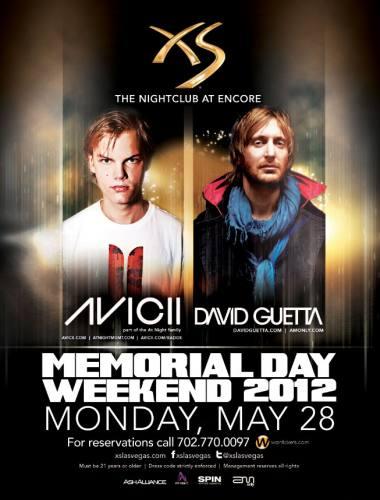 David Guetta & Avicii @ XS Las Vegas