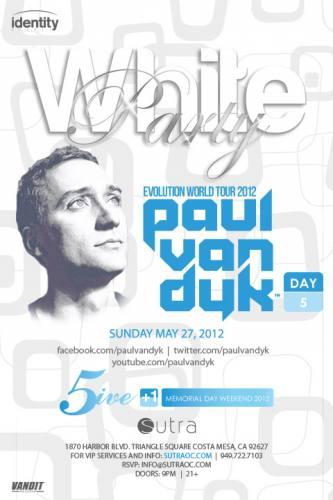 Paul van Dyk @ Sutra