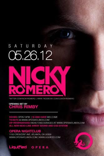 Nicky Romero @ Opera