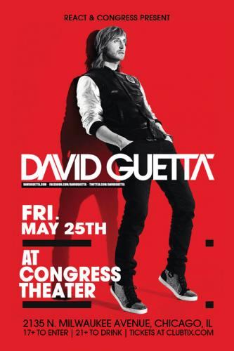 David Guetta @ Congress Theater