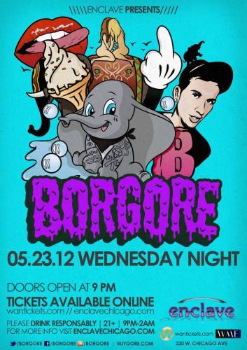 Borgore @ Enclave Chicago