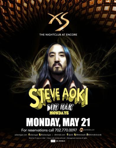 Steve Aoki @ XS Las Vegas (5/21/12)