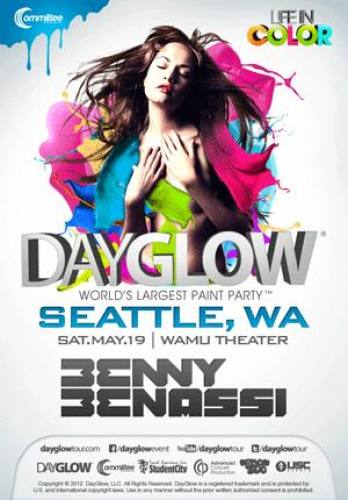 Dayglow :: World's Largest Paint Party- Seattle