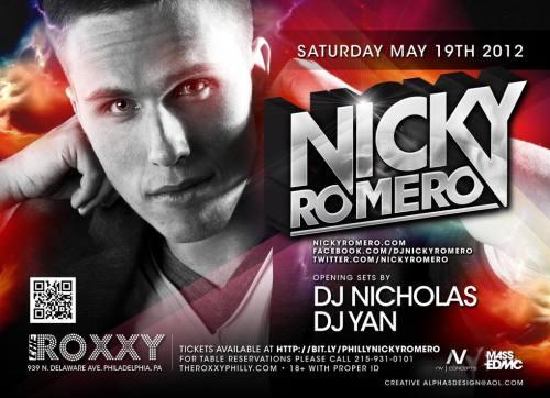 Nicky Romero @ The Roxxy