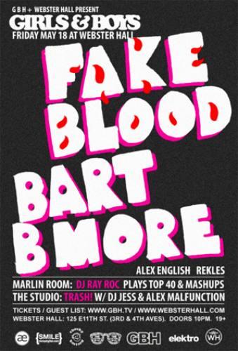 Fake Blood & Bart B More @ Webster Hall