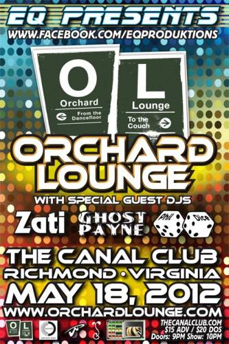 Orchard Lounge @ Canal Club (5/18/12)