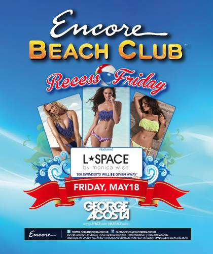 George Acosta @ Encore Beach Club (5/18/12)