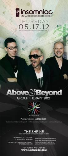 Above & Beyond @ Shrine Auditorium (5/17/12)