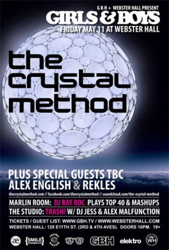 The Crystal Method @ Webster Hall (5/11/12)
