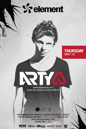 Arty @ Sutra