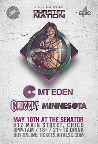 Mt Eden, Crizzly, and Minnesota @ Senator Theatre