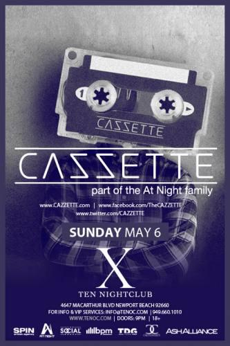 Cazzette @ Ten Nightclub