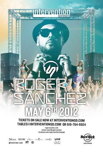 Roger Sanchez @ Hard Rock Hotel - San Diego