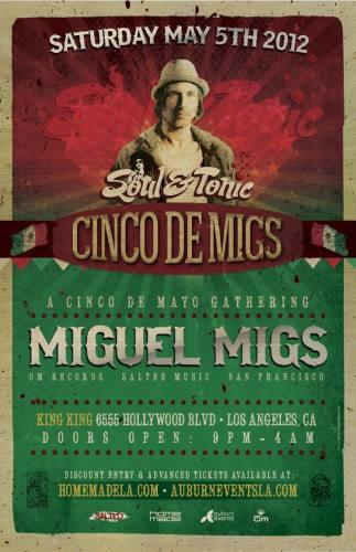 Cinco de Mayo w/ Miguel Migs