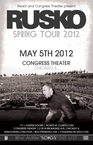 Rusko @ Congress Theater (5/5/12)
