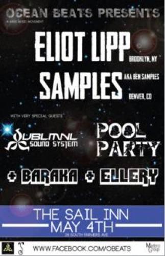 Ocean Beats Presents: Eliot Lipp & Samples in Tempe, AZ