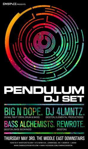 Pendulum (DJ) @ The Middle East