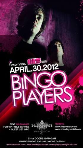 Bingo Players @ Playhouse