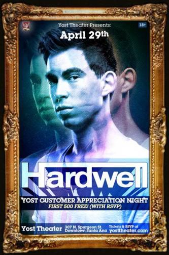 Hardwell @ Yost Theater